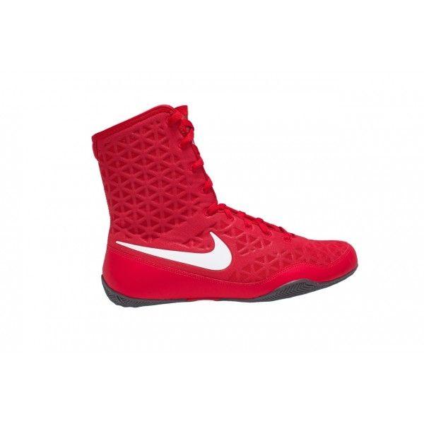 Nike KO Boxing Boot Red White | Boxing