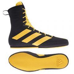 Adidas Box Hog 3 Boxing Boots - Black Gold