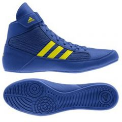 Adidas Havoc Wrestling Boots - Blue Yellow