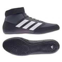 Adidas Mat Hog 2.0 Wrestling Boots - Black White