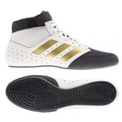 Adidas Mat Hog 2.0 Wrestling Boots - Black Gold