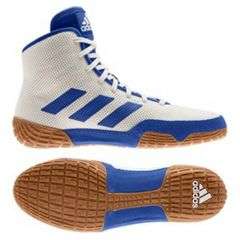 Adidas Tech Fall 2.0 Wrestling Boots - White Blue