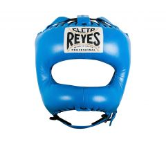 Cleto Reyes Blue Leather Head Guard with Nylon Pointed Face Bar