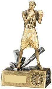Boxer Male Trophy - Add Engraving