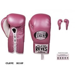 Cleto Reyes Traditional Contest Gloves Pink
