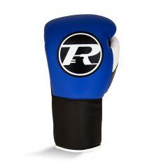 Ringside Pro Contest Gloves Royal Black White