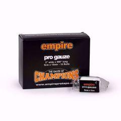 Empire Pro Gauze (5cm x 15m) Box of 12 Rolls