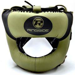 Ringside Gamma Series Limited Edition Bar Head Guard Khaki/Black