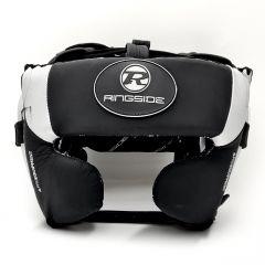Ringside Gamma Series Limited Edition Cheek Head Guard Guard Black/Silver
