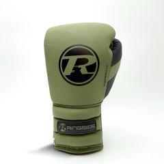 Ringside Gamma Series Lace Gloves - Khaki/Black