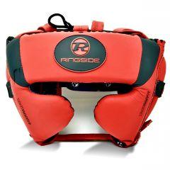Ringside Gamma Series Limited Edition Cheek Head Guard Guard Red/Black