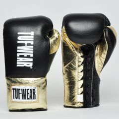 Tuf Wear Sabre BBBofC Approved Contest Gloves - Black-Gold