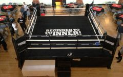 High Platform Boxing Ring
