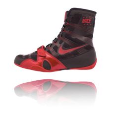 Nike Hyper KO Boxing Boots - Black Red