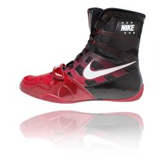 Nike Hyper KO Boxing Boots - Black Red White