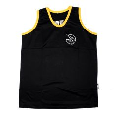 Tuf Wear Kids Junior Club Boxing Vests - Black Gold