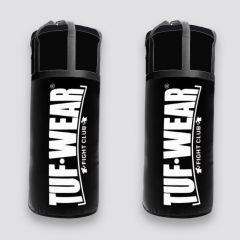 Tuf Wear 60kg Jumbo Punchbag 4FT 20 inch Diameter - Black/White