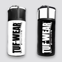 Tuf Wear 45KG Jumbo Punchbag 4FT 20 Inch Diameter - Black/White