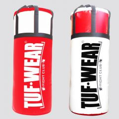 Tuf Wear Jumbo Punchbag 4FT 20 Inch Diameter - Red/White