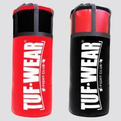 Tuf Wear 45KG Jumbo Punchbag 4FT 20 Inch Diameter - Red/Black
