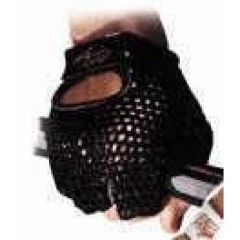 Weight Lifting Gloves Mesh Black