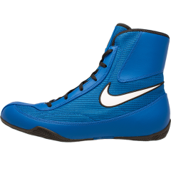 Nike Machomai 2 Boxing Boots Blue-White - Add Your Name Option
