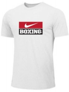Nike Men's Boxing Training Tee - White/Red/Black