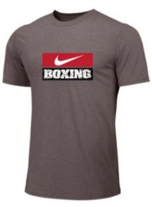 Nike Men's Boxing Training Tee - Grey/Red/White