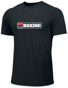 Nike Men's Boxing Training Tee - Black/White/Red