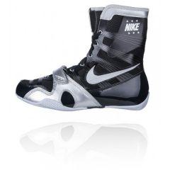 Nike Hyper KO Boxing Boots - Black Silver