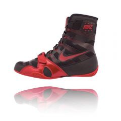 Nike Hyper KO Boxing Boots - Black Red