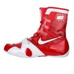 Nike Hyper KO Boxing Boots - Red White