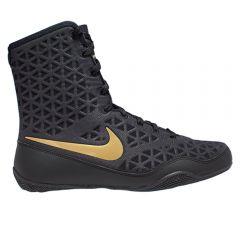 Nike KO Boxing Boots - Black Gold