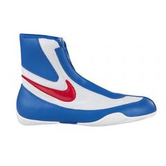 Nike Machomai Mid Boxing Boots - Blue White Red