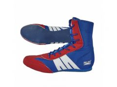 Pro-Box Junior Boxing Boots - Blue-Red