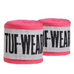 Tuf Wear Hand Wraps 2.5m Pink
