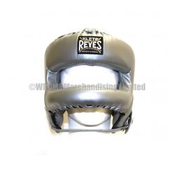 Cleto Reyes Platinum Leather Head Face with Nylon Round Face Bar