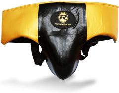Ringside Pro Fitness Gron Guard Synthetic Leather Metallic Black / Gold