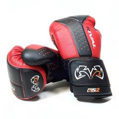 Rival Boxing RB10 Intelli-Shock Bag Gloves - Red/Black - Back