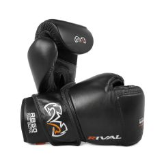 Rival RB50 Intelli-Shock Compact Bag Gloves - Black