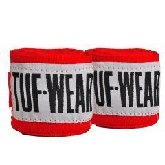 Tuf Wear Hand Wraps 2.5m Red
