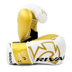 Rival RFX-GUERRERO SF-F Bag Gloves with Velcro Strap - White