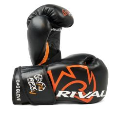 Rival RFX-GUERRERO SF-F Bag Gloves with Velcro Strap - Black