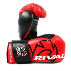 Rival RFX-GUERRERO HDE-F Bag Gloves with Velcro Strap - Red