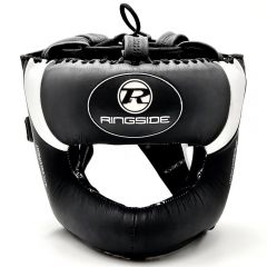 Ringside Pro Equipment Ultra Pro Spar Bar Head Guard Black/Silver