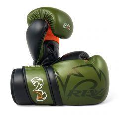 Rival RS80V Impulse Sparring Gloves - Khaki Green