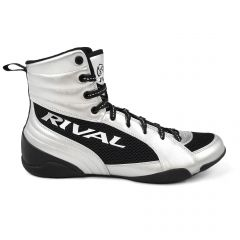 Rival RSX-Guerrero Deluxe Boxing Boots-Silver