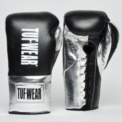Tuf Wear Sabre BBBofC Approved Contest Gloves - Black-Silver