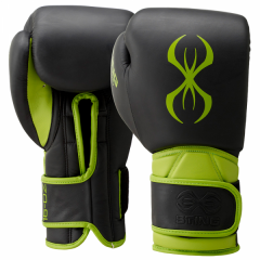 Sting Predator Velcro Training Boxing Gloves - Green 16oz