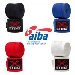 Sting AIBA Contest Handwraps - 4.5m